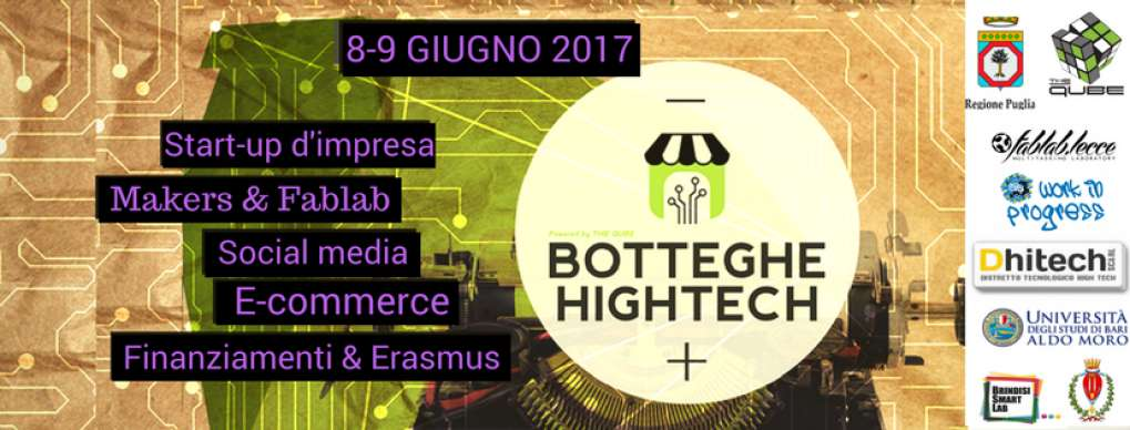 Botteghe High Tech, l'8 e 9 giugno